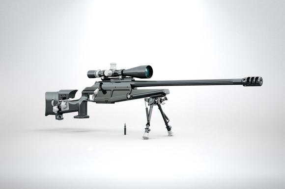 Blaser R93 LRS2 3D Render