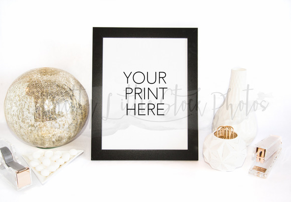 #294 PLSP Styled Frame Stock Photo