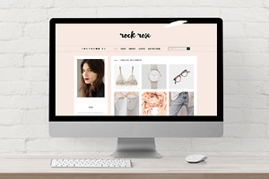 Rspnsiv WordPress Theme · Rock Rose