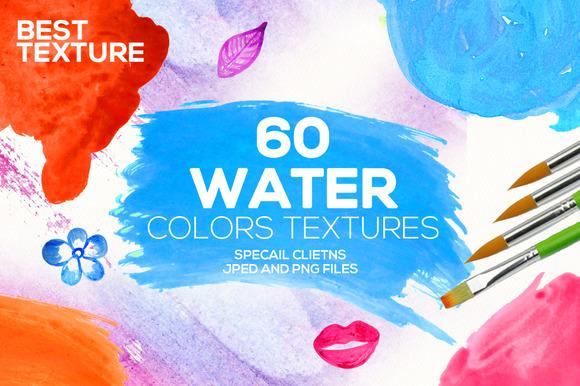 60 Watercolor Textures