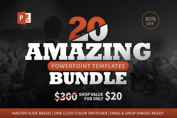 20 Amazing Powerpoint Bundle