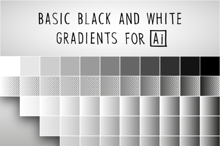 65 BASIC BLACK AND WHITE GRADIENTS