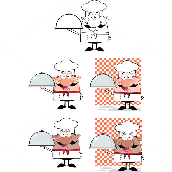 Chef Characters Collection 4