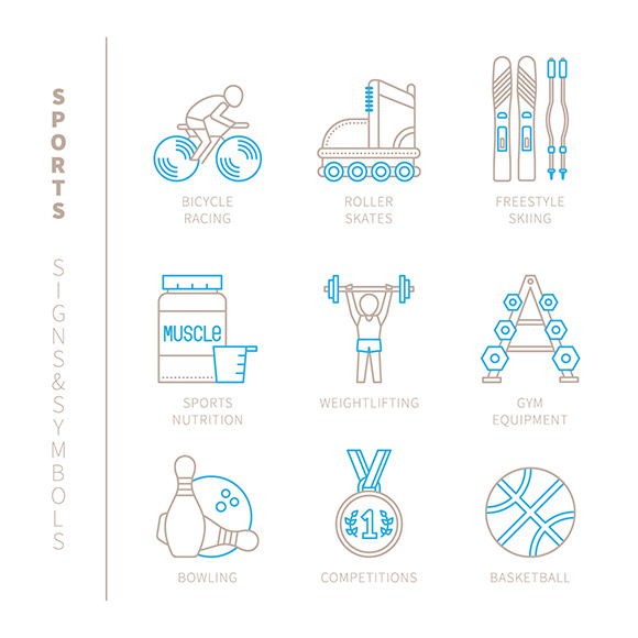 Sports Signs Symbols