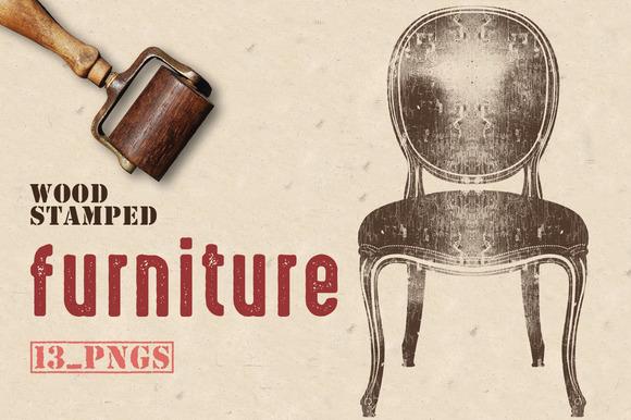 Wood Stamped Furniture