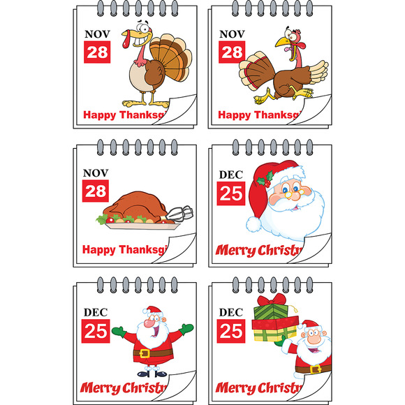 Holiday Calendars Collection 1