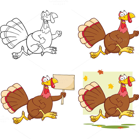 Cute Turkey Collection