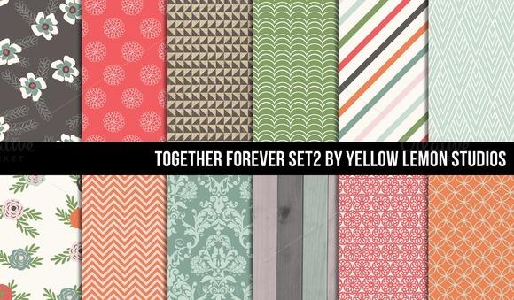 Vintage Style Together Forever Set 2