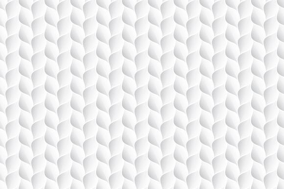 White Decorative Texture Seamless