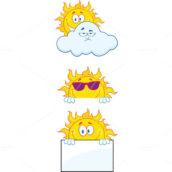 Sun Characters Collection 1