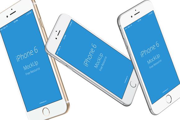 IPhone 6s Mockups Transparent