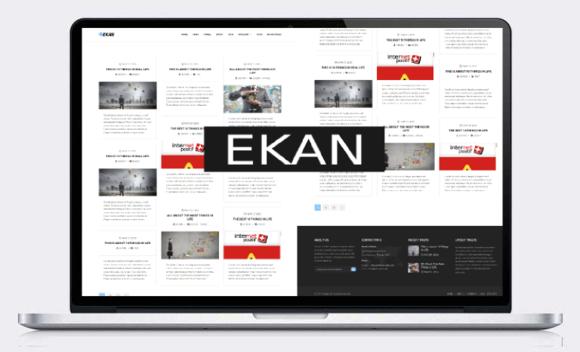 Ekan Clean Blog Responsive