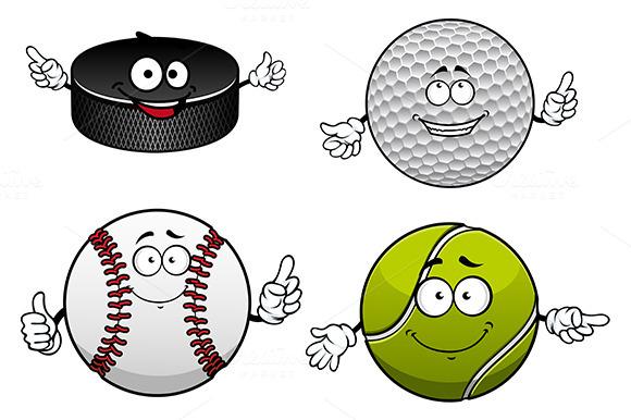 Golf Tennis Baseball Ice Hockey