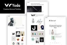 Yoda - Creative Minimal Portfolio