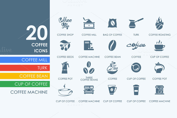 20 Coffee Icons