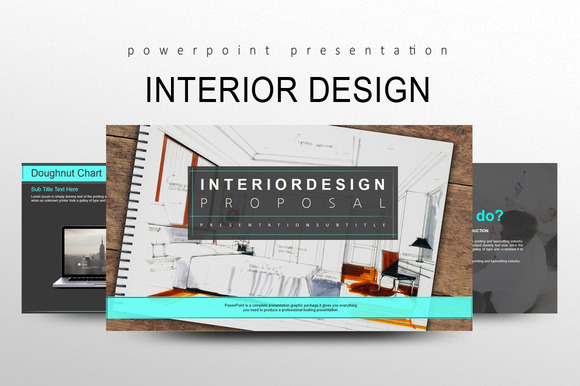 Interior Design Presentation Templates On Creative Market