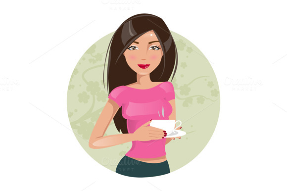 Coffee. Vector illustration - Illustrations