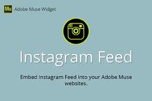 Instagram Feed Adobe Muse Widget