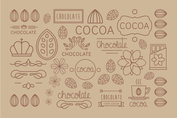 Cocoa And Badges Chocolate