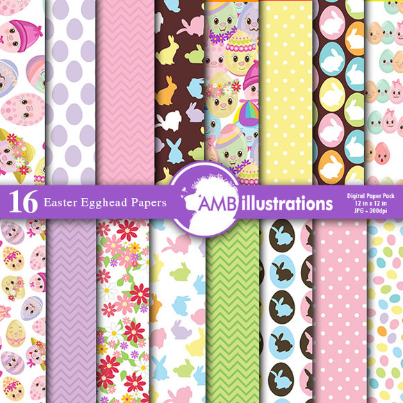 Easter Digital Papers AMB-381
