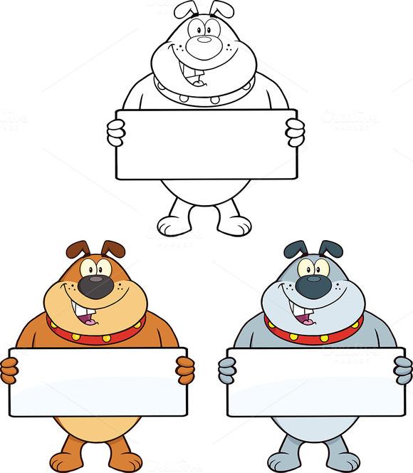 Bulldog Characters Collection 2