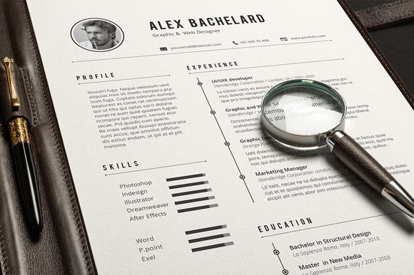 11 hand-picked modern resume  cv templates  u2013 simply creative