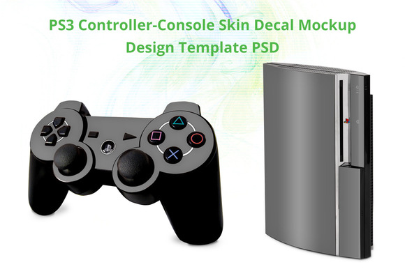 PS3 Controller Console Skin Mock-up