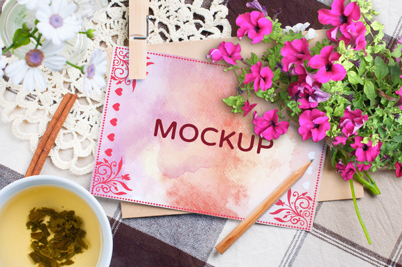 Greeting Cards Mockup Vol.2 - Product Mockups