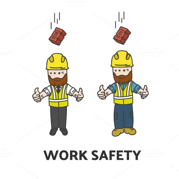Work Safety Illustration