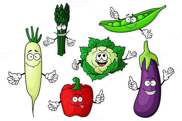 Eggplant Cauliflower Pea Pepper