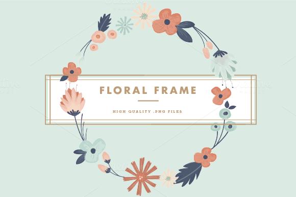 Floral Frame Overlay
