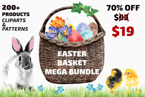 Easter Basket MEGA Bundle
