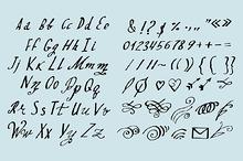 #72 Vector font