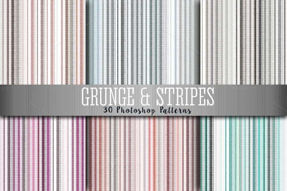 Grunge And Stripes