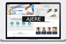Ajere - One Page Bootstrap Template