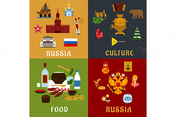 Russian Food Culture And Landmarks