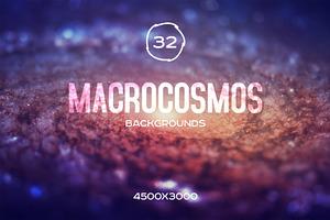 Macrocosmos Galaxy Backgounds Set