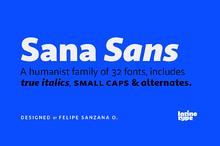 Sana Sans - Intro Offer 83% off
