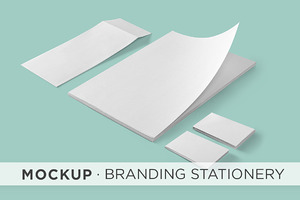 Mockup - Branding Stationery