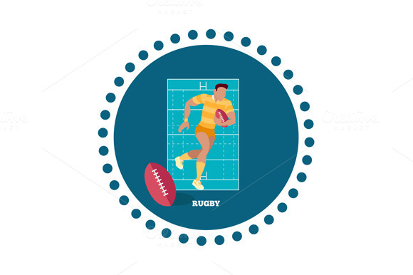 Rugby Sport Concept