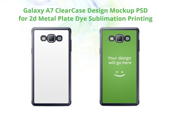 Galaxy A7 ClearCase Mock-up