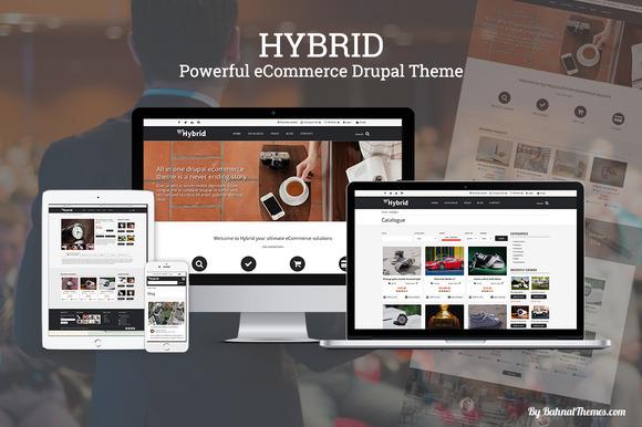 HYBRID ECommerce Drupal Theme