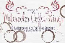 Watercolor CoffeeRings vol.1