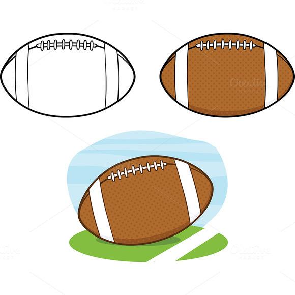 Football Balls Collection 1