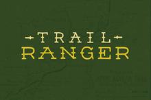 Trail Ranger Font