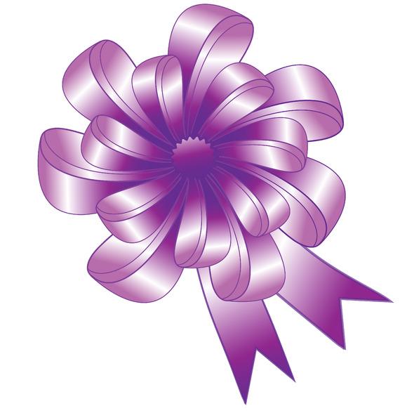 Nice Purple Bow
