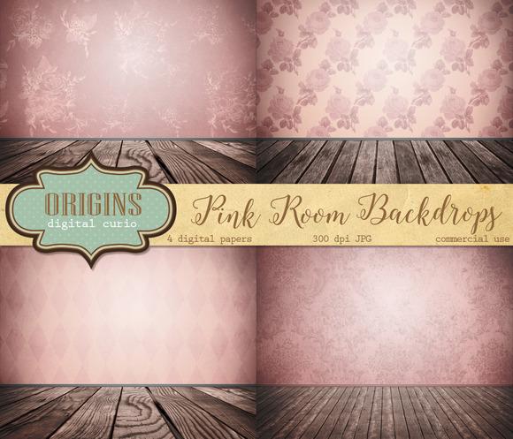 Pink Room Backdrops
