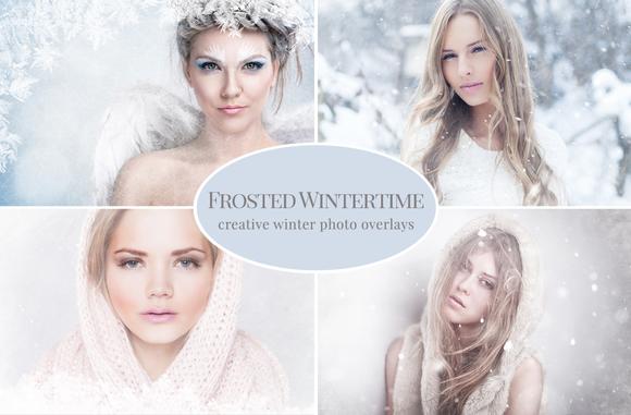 Creative Winter Photo Overlays
