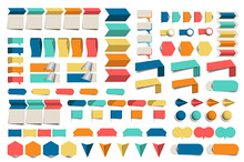 Mega set of infographic elements.