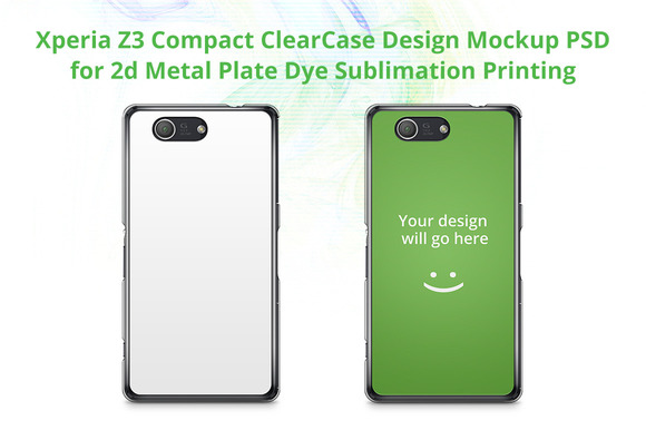 Xperia Z3 Compact ClearCase Mock-up